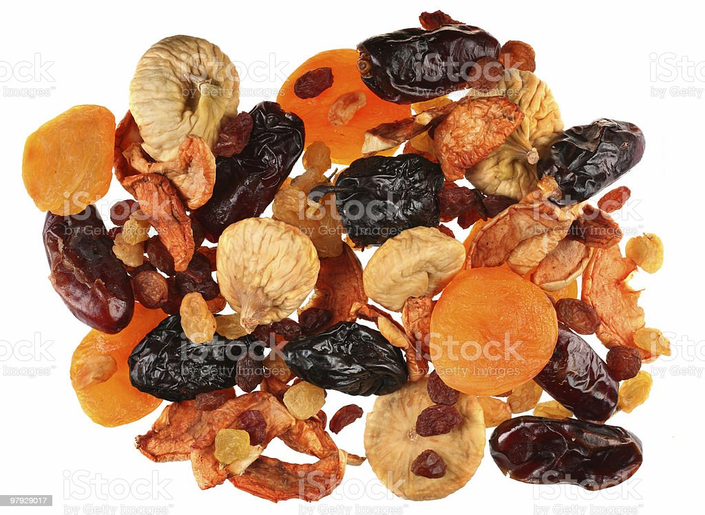 Mix dry fruit royalty-free stock photo