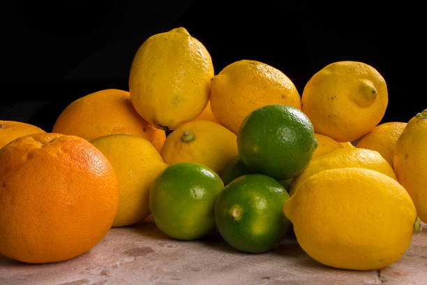 Mix of fresh citrus fruits Mix of fresh citrus fruits. estudio stock pictures, royalty-free photos & images