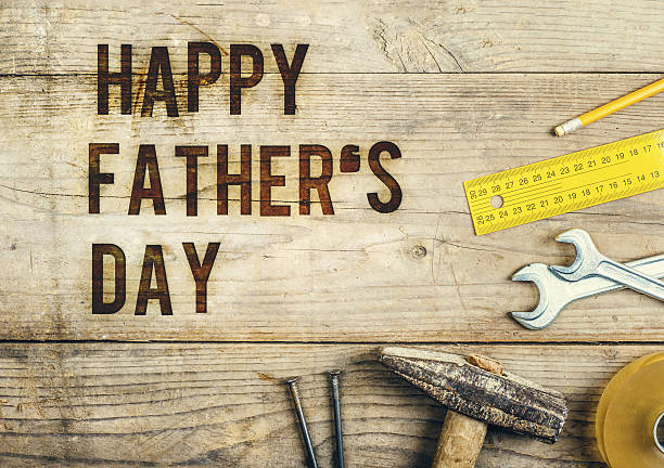 mix of work tools - fathers day stock photos and pictures