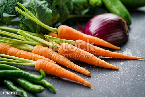 904734850 istock photo Mixed Berries and Vegetables 1197080901