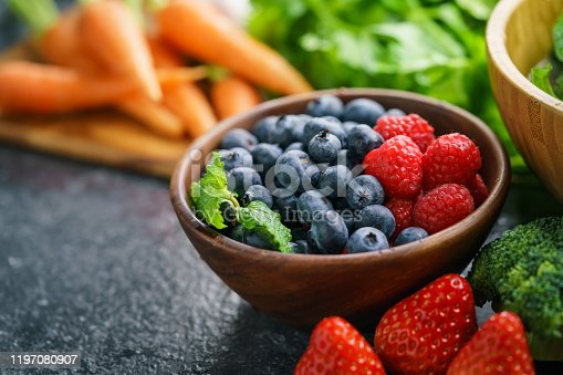 904734850 istock photo Mixed Berries and Vegetables 1197080907