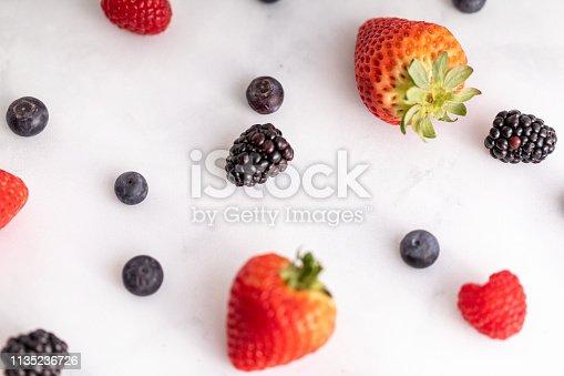 177495131 istock photo Mixed Berries 1135236726