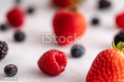 177495131 istock photo Mixed Berries 1135236786