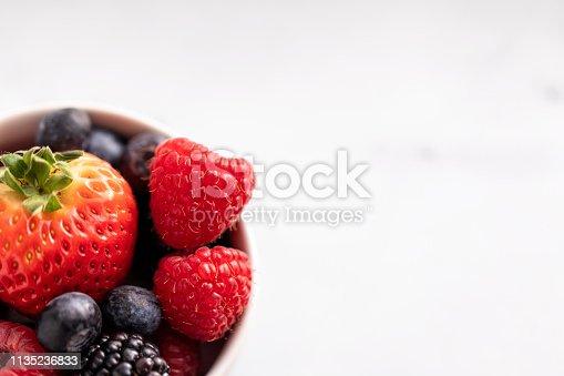 177495131 istock photo Mixed Berries 1135236833