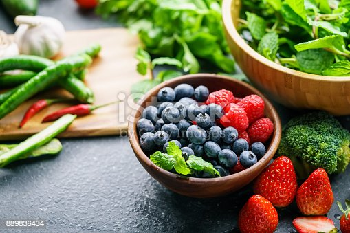 904734850istockphoto Mixed berries 889836434