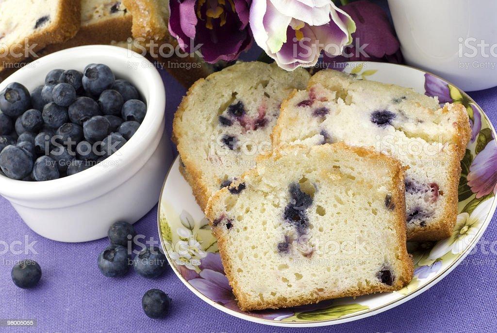 Mixed Berry Bread royalty free stockfoto