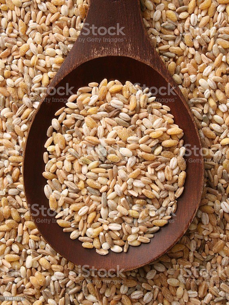 Mixed cereals royalty-free stock photo
