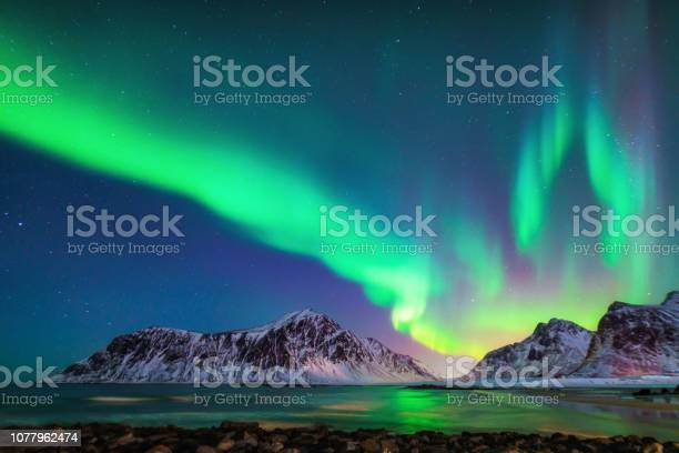 Mixed colorful aurora borealis dancing in the sky picture id1077962474?b=1&k=6&m=1077962474&s=612x612&h=wxqupiezrac92kckxjci1i s 6xu6qboxws6h 4ui m=