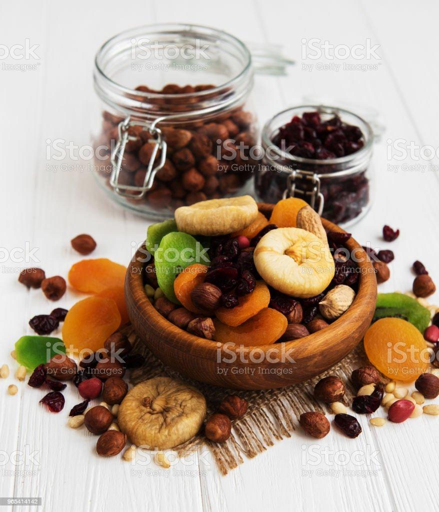 Mélange de fruits secs - Photo de Abricot libre de droits