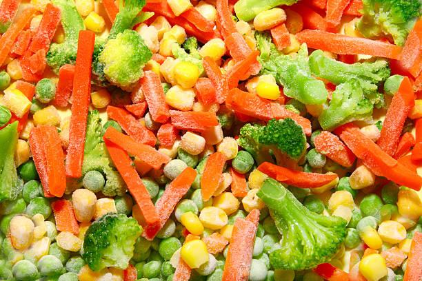 Mixed Frozen Vegetable stock photo