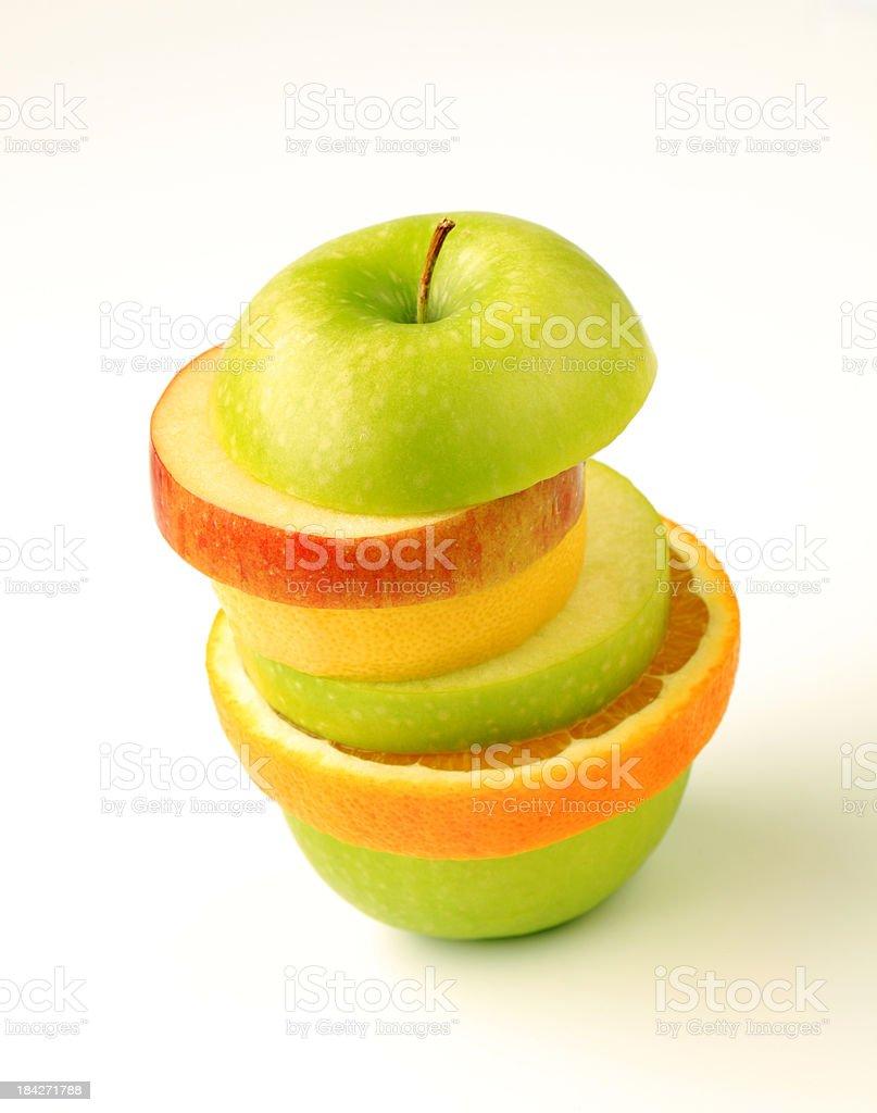 Mixed fruit royalty-free stock photo