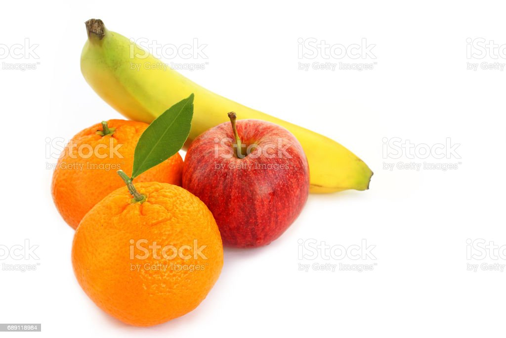 Mixed fruit stock photo