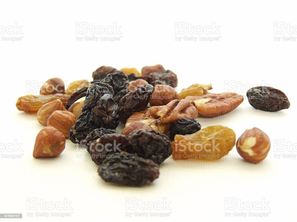 Frutas mistas foto royalty-free