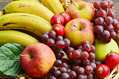 The fruits and vegetables are eaten throughout the year and useful.