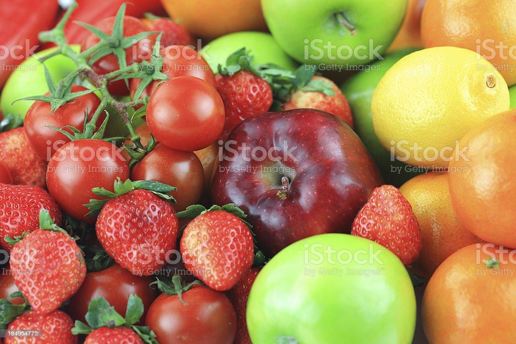 mixed fruits royalty-free stock photo