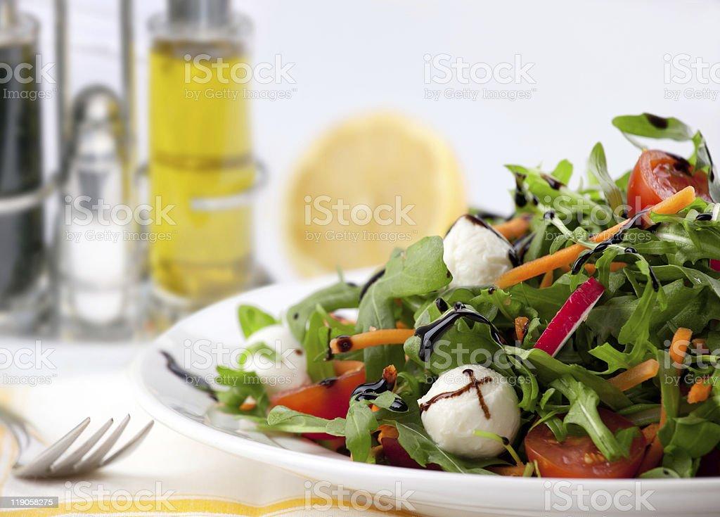 Mixed green Salad royalty-free stock photo