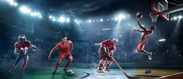 Gemischte wichtigsten sports – Foto