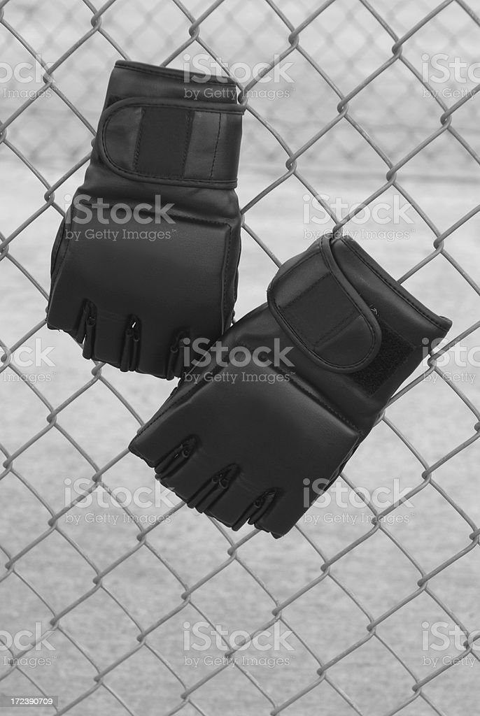 Mixed martial artist fight club royalty-free stock photo