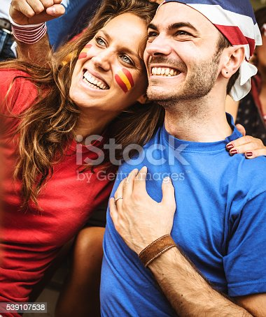 537894724 istock photo mixed national world supporter at the soccer stadium 539107538