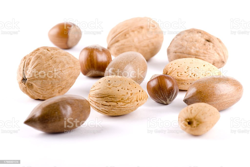Mixed Nuts royalty-free stock photo