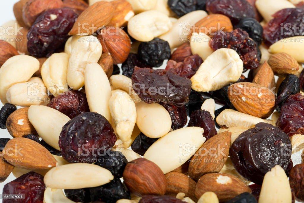 mixed nuts foto de stock libre de derechos