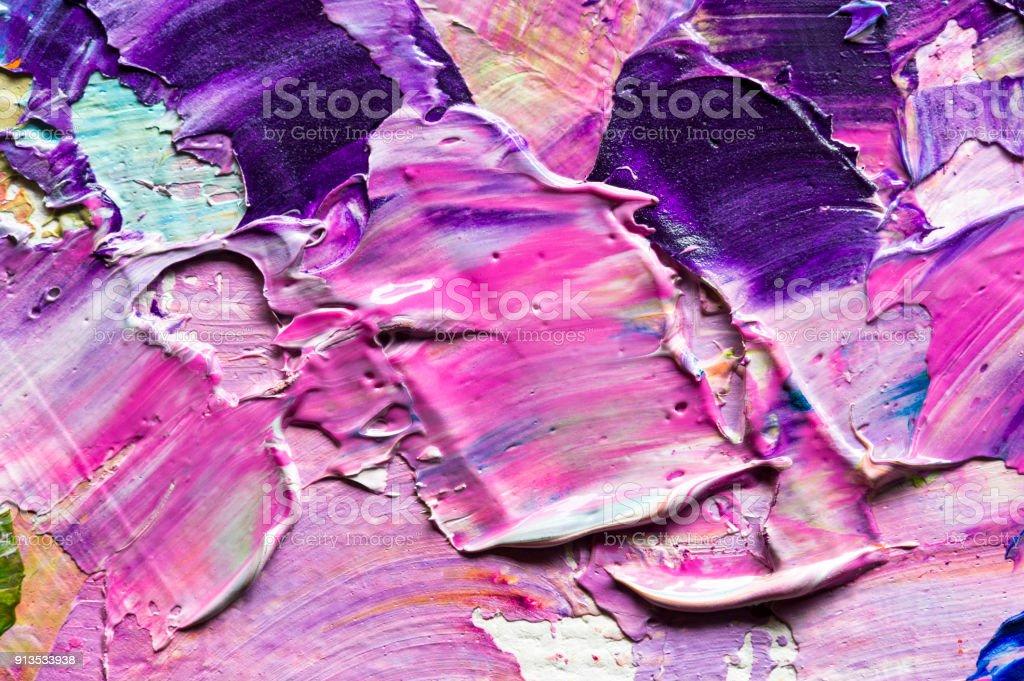 Gemischte Ölfarben – Foto