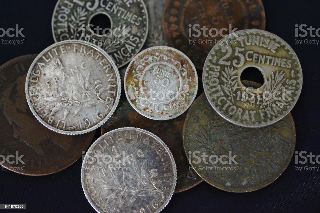 Gemischte Alte Münzen Stock Fotografie Und Mehr Bilder Von 1916 Istock