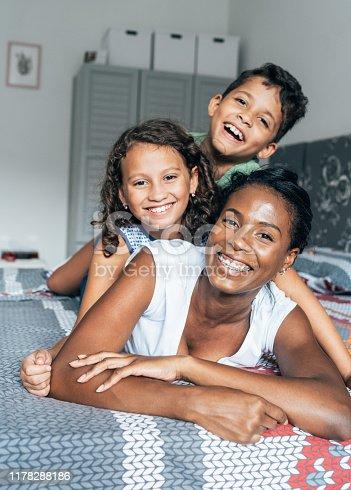 172407626istockphoto Mixed race family 1178288186