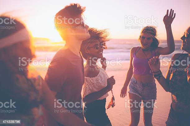 Mixed race group of friends dancing together at a beachparty picture id474339796?b=1&k=6&m=474339796&s=612x612&h=a5kyseqa9nca3z2o3fhtdva0koblkeunazqkvglg zk=