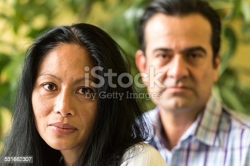 istock Mixed race mature couple 531662307