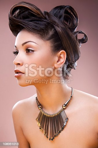 istock mixed race woman with updo 108351013
