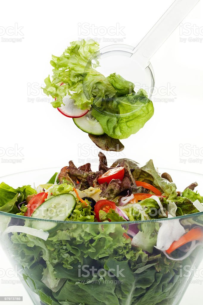 Mixed Salad royalty-free stock photo