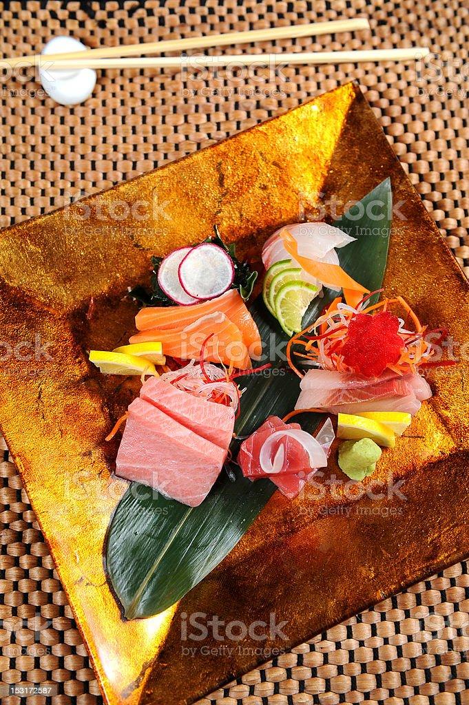 Mixed sashimi royalty-free stock photo