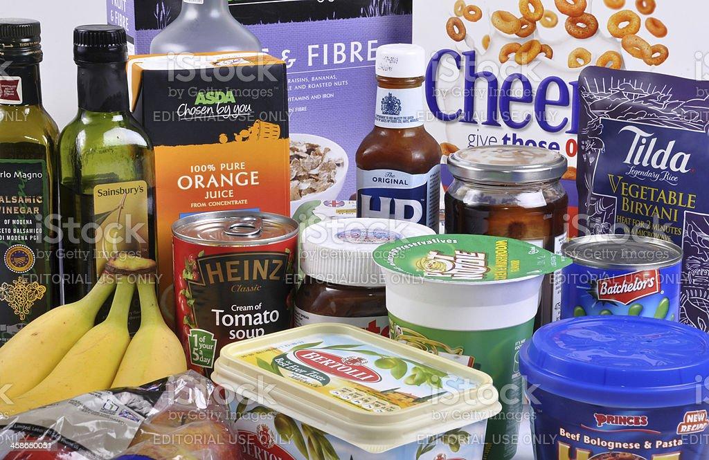 Mixed Shopping stock photo