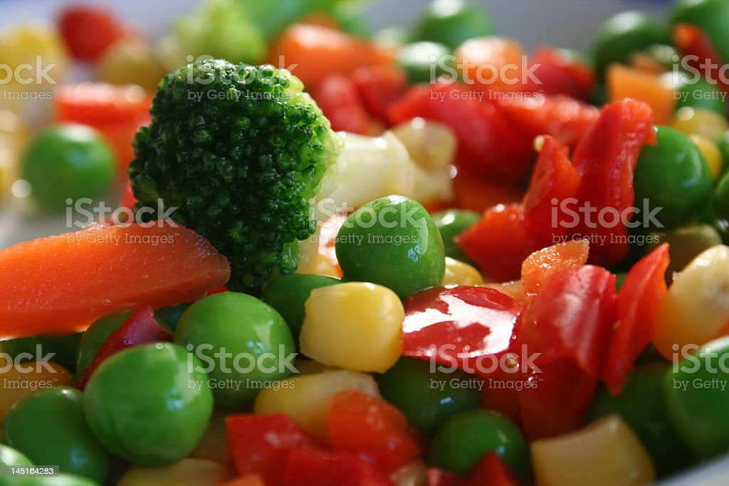 mixed veg stock photo