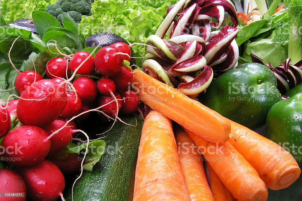 Mixed Vegetable royalty-free stock photo