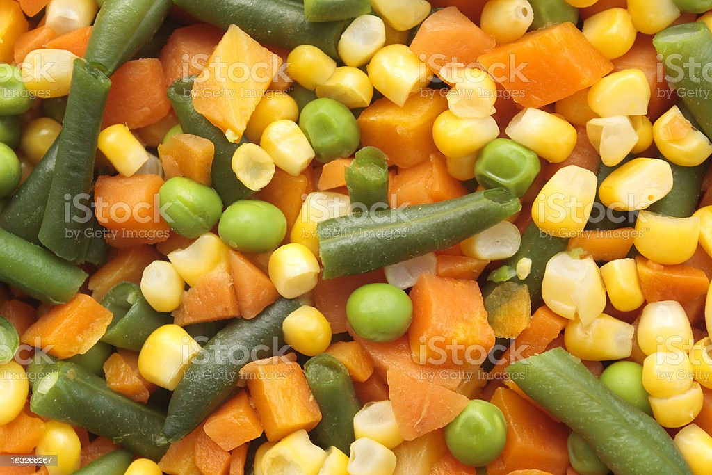 Mixed Vegetables royalty-free stock photo