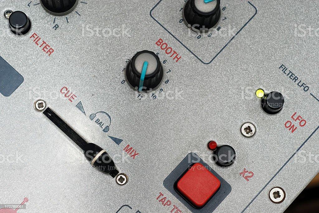 Mixer Closeup stock photo
