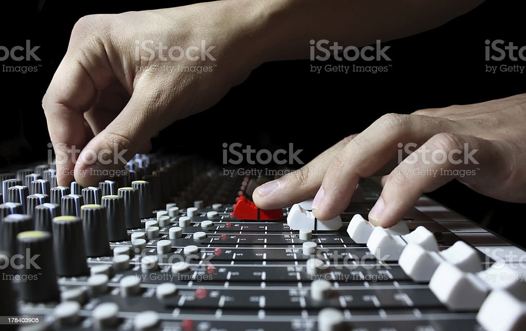 mixer royalty-free stock photo