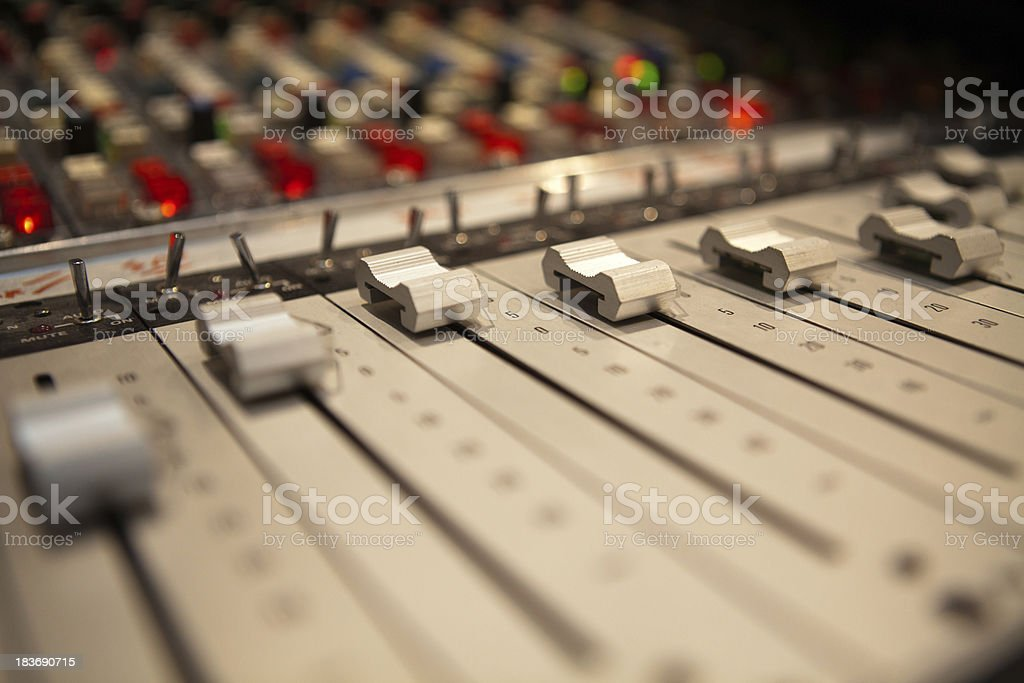 mixer slider stock photo