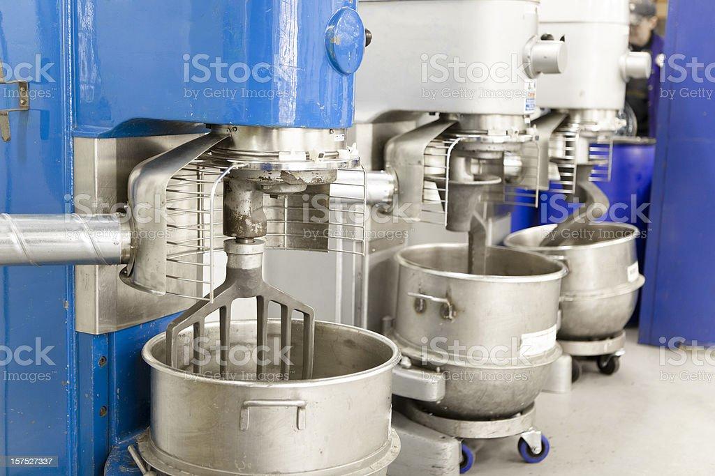 Mixers stock photo