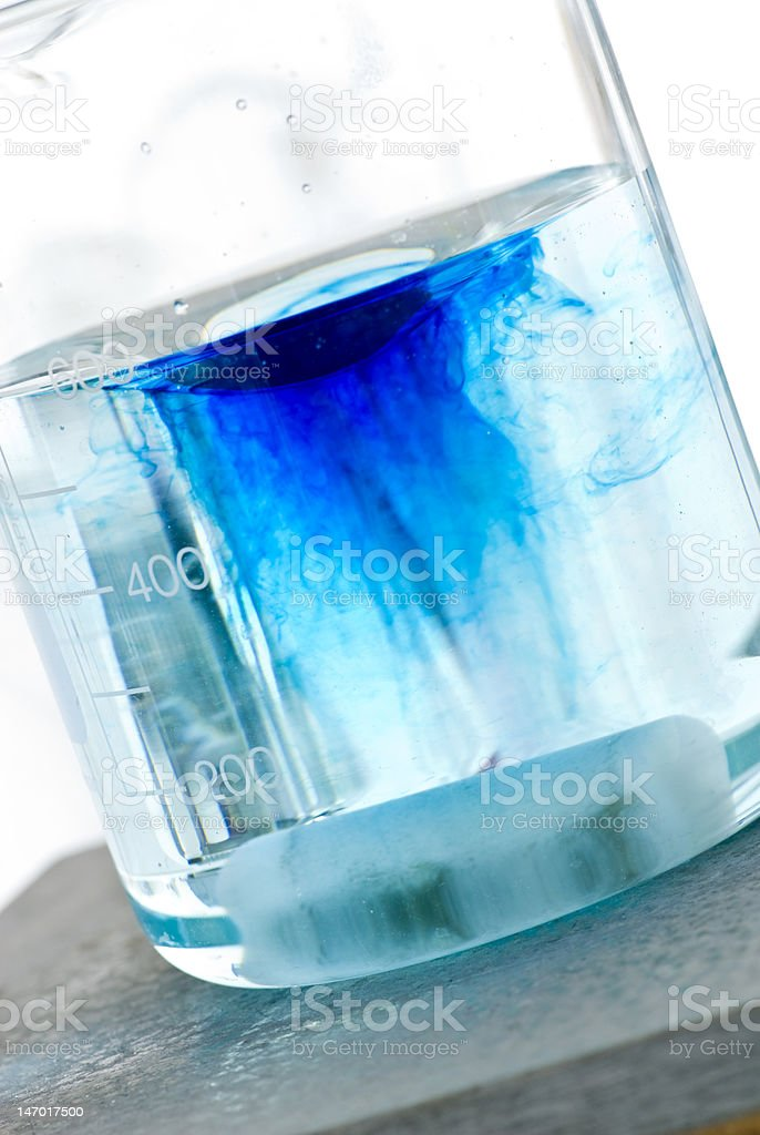 mixing chemicals stock photo
