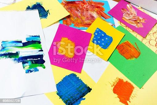 504223972istockphoto Mixing colour 698552728