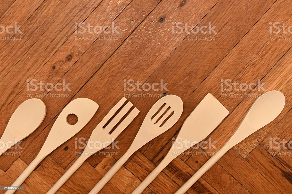 Mixing spoons royalty-free stock photo