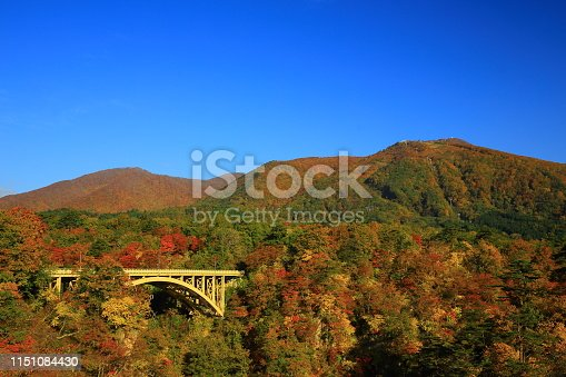Miyagi Prefecture Fall Valley