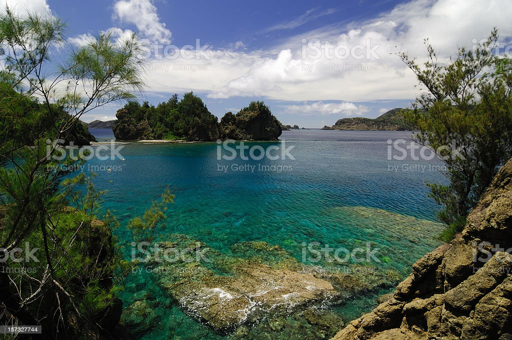 Miyanohama (Ogasawara Islands) stock photo