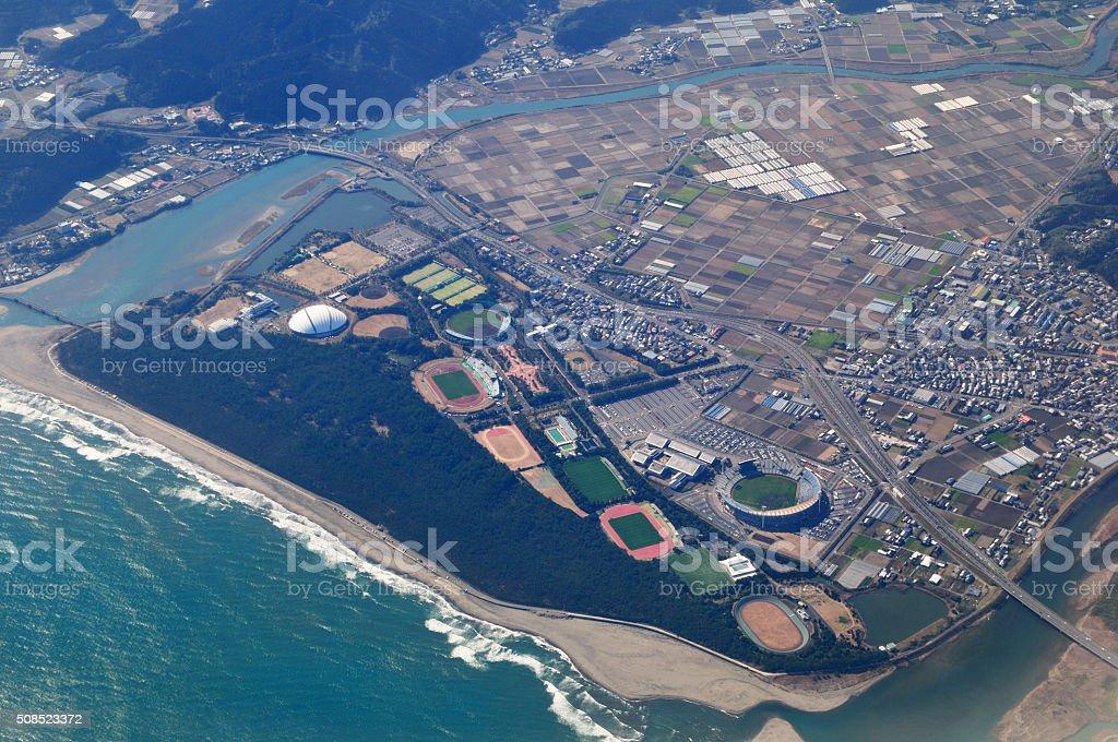 Miyazaki Prefecture Sports Park stock photo