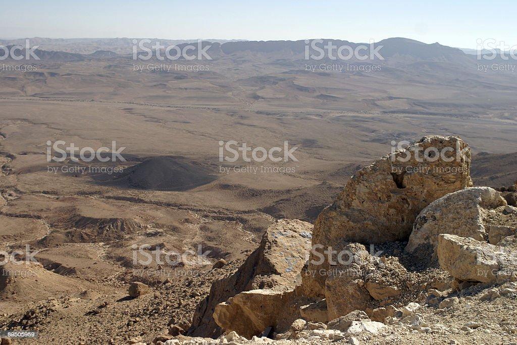 Mizpe Ramon, Israel royalty-free stock photo