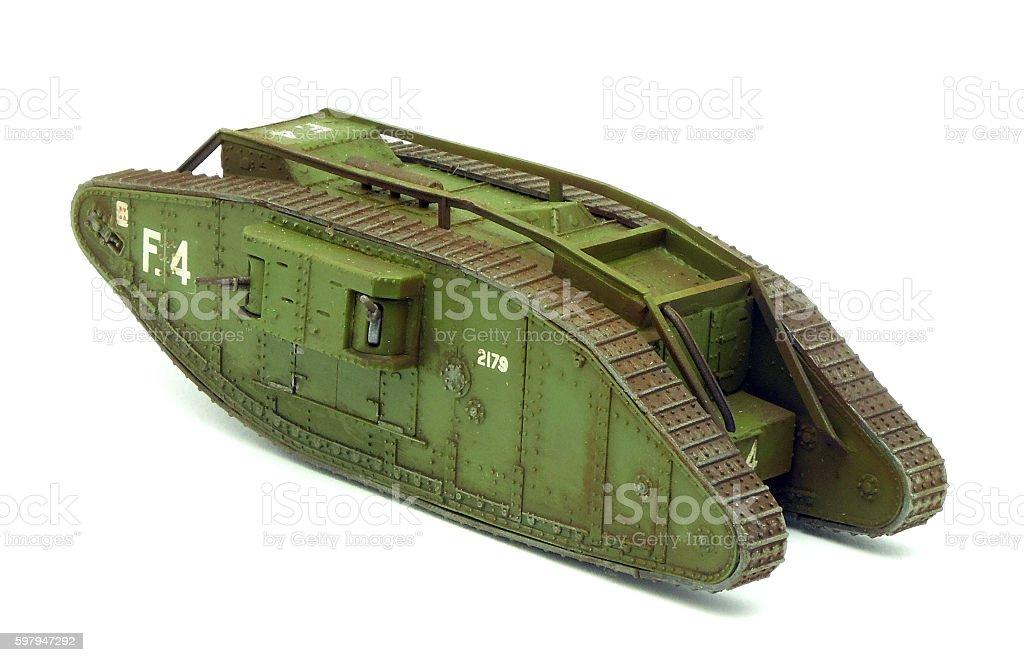 MkIV Female - model czołgu foto royalty-free