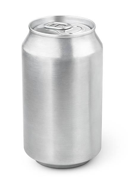 330 ml aluminium soda können - blech stock-fotos und bilder